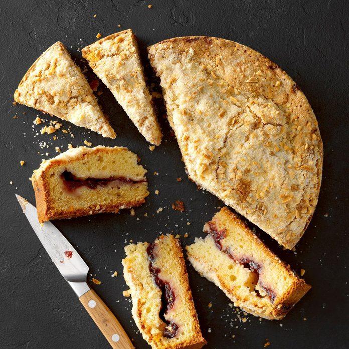 Cranberry Crumble Coffee Cake