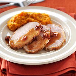 Cranberry-Dijon Pork Roast