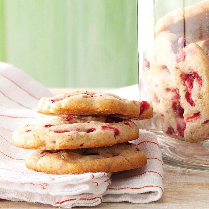 Cranberry Icebox Cookies