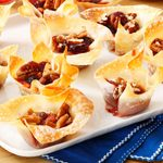 Cranberry-Pecan Brie Cups