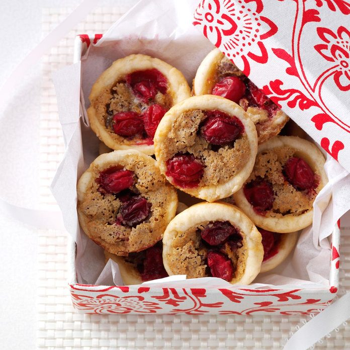 Cranberry Pecan Tassies