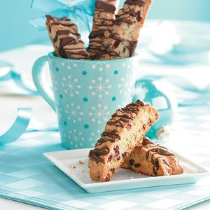 Cranberry Walnut Biscotti