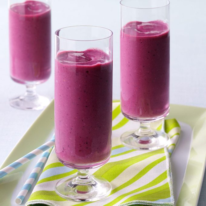 Creamy Berry Smoothies