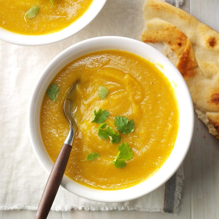 Creamy Cauliflower Pakora Soup