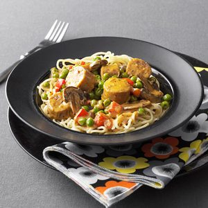 Creamy Chipotle Pasta with Sausage