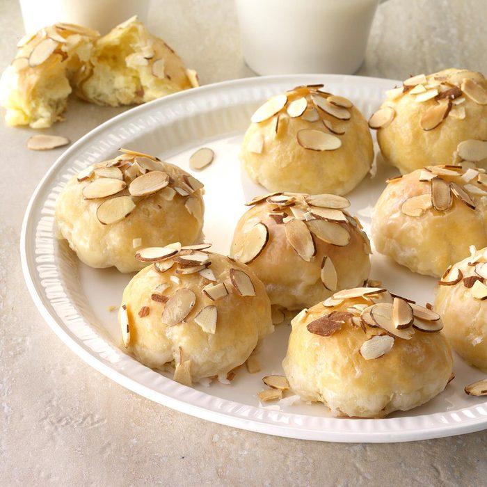 Creamy Lemon Almond Pastries