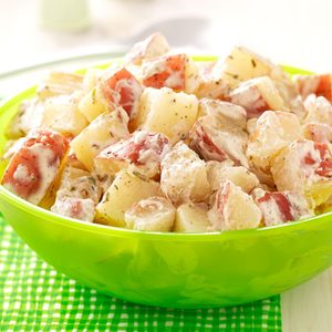 Creamy Lime Potato Salad