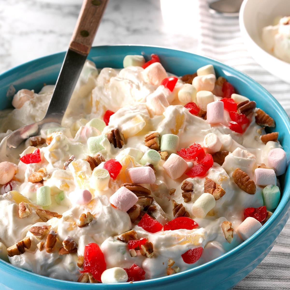 Kentucky: Creamy Pineapple Fluff Salad