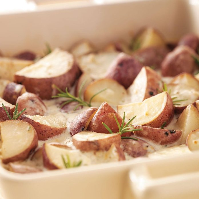 Creamy Rosemary Potatoes
