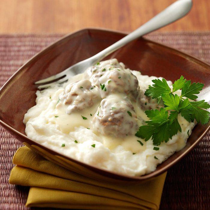 Creamy Veggie Meatballs