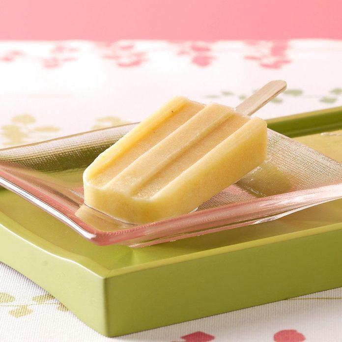 Creamy Yogurt Ice Pops