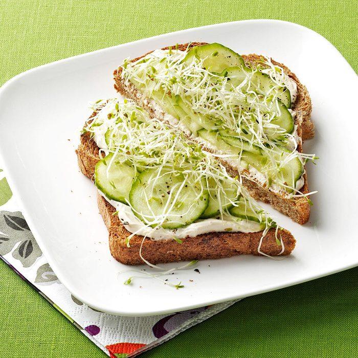 Crisp Finger Sandwich