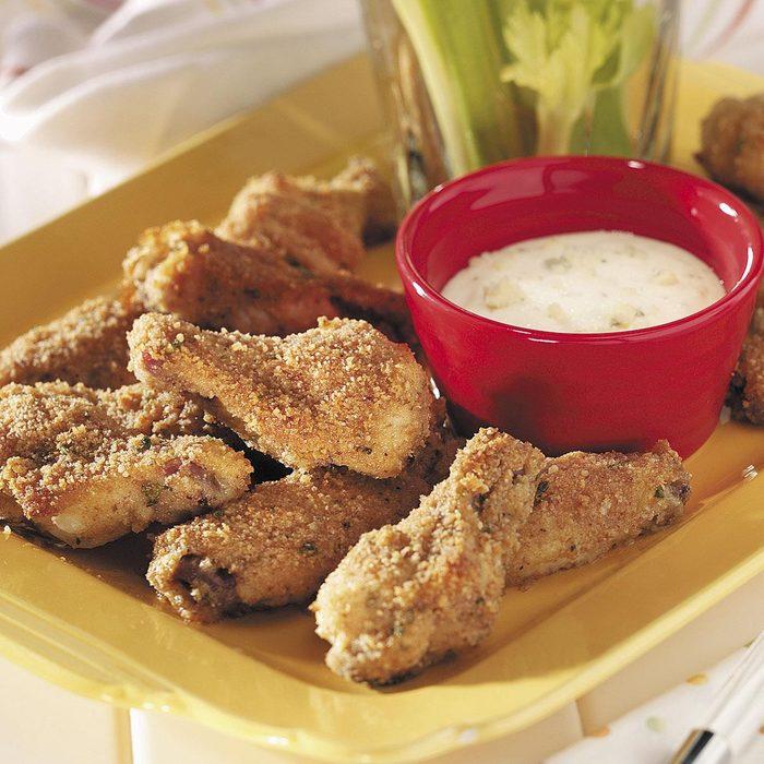 Crispy Chicken Wings Appetizer