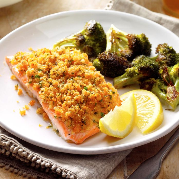 Crumb-Topped Salmon