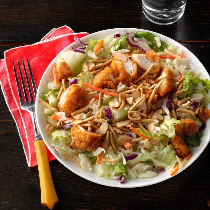 Inspired by: Applebee's Oriental Chicken Salad