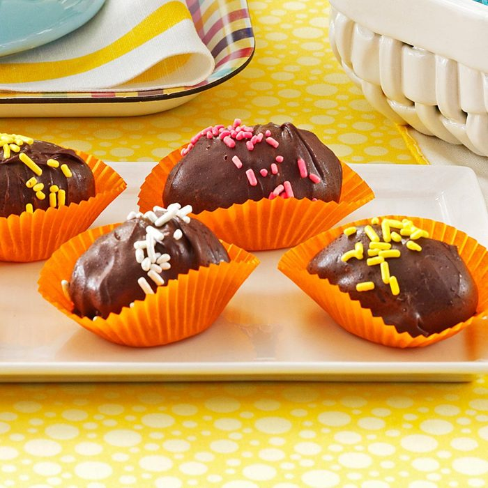 Crunchy Chocolate Eggs