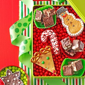 Crunchy Mint Fudge