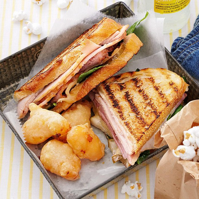 Ham and Cheese Cuban Inspired by White Christmas