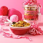 Curried Cranberry Snack Mix
