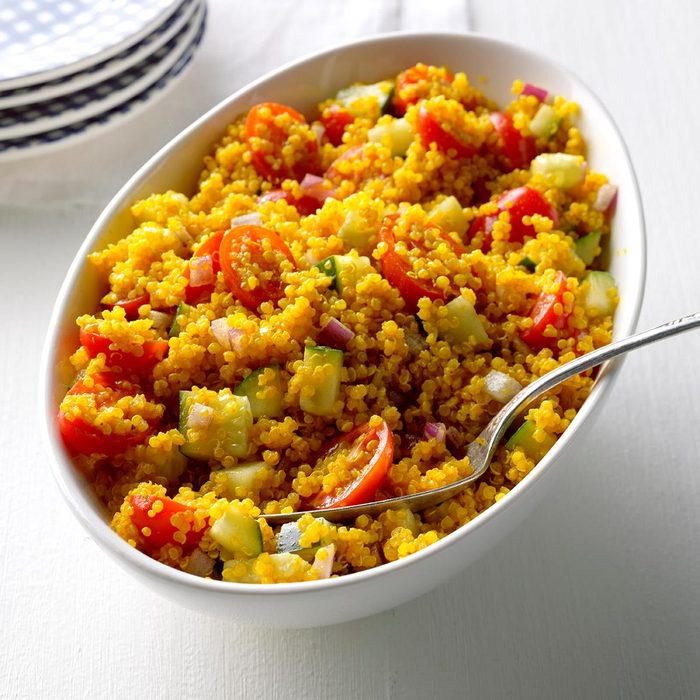 Curried Quinoa Salad