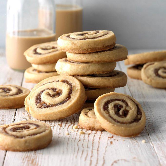Best Homemade Slice-and-Bake Cookies: Date-Nut Pinwheels