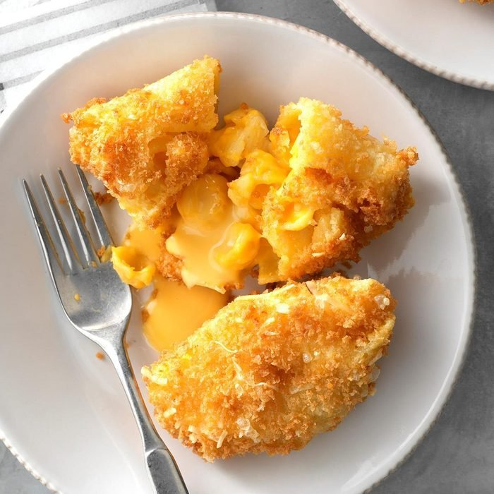 Deep-Fried Mac & Cheese Shells