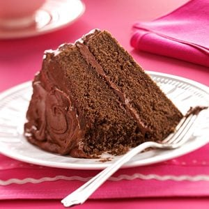 Devil's Food Cake with Chocolate Fudge Frosting