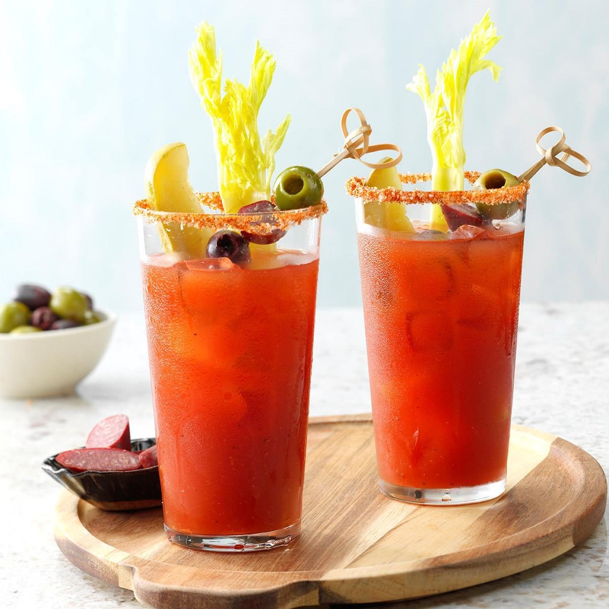 Dill Bloody Marys