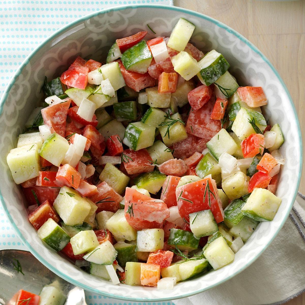 Pennsylvania: Dill Garden Salad