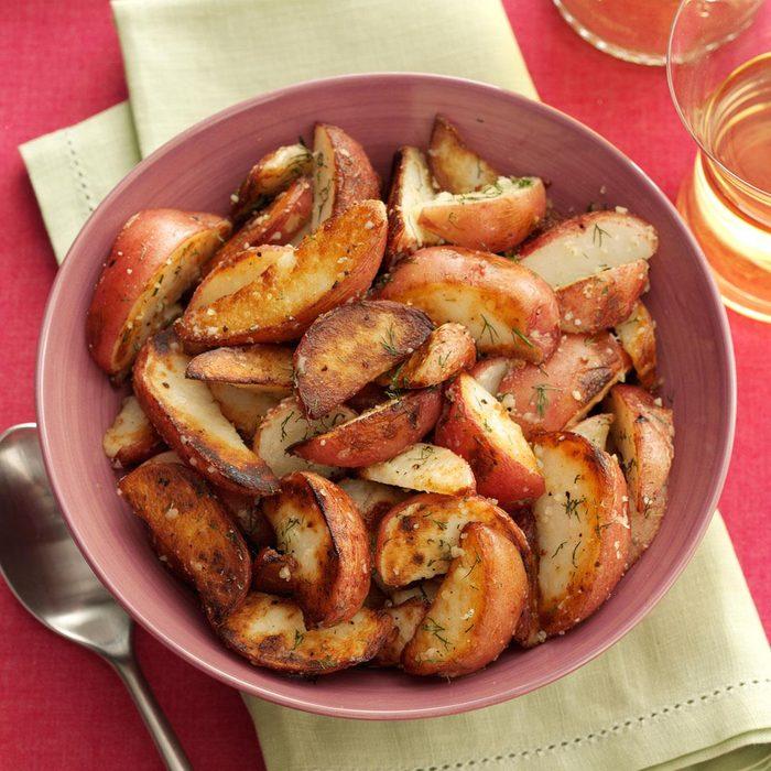 Dill Potato Wedges