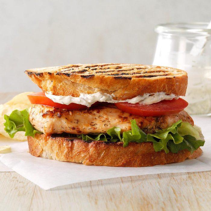 Dilly Chicken Sandwiches