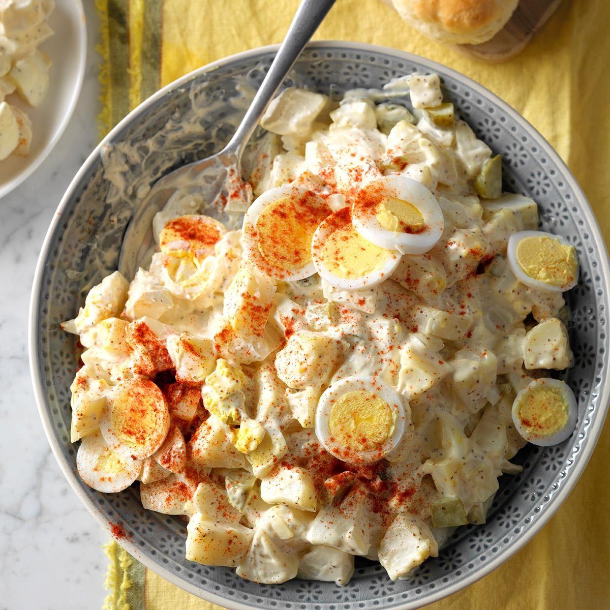 Virginia: Dilly Potato & Egg Salad