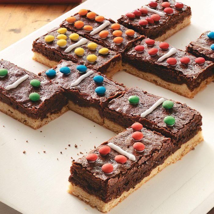 Domino Brownies
