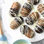 Double-Dipped Shortbread Cookies