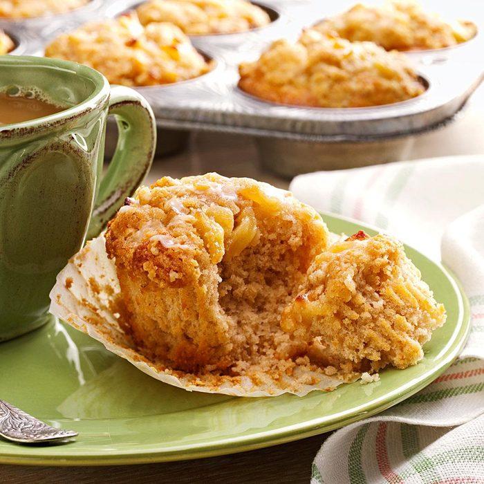 Dutch Apple Pie Muffins