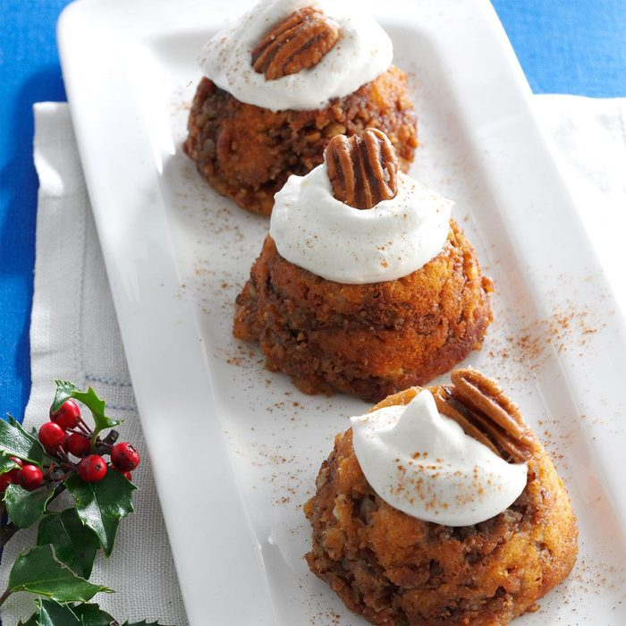 Sticky Bread Pudding Cups