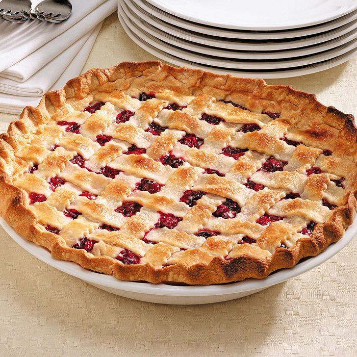 Favorite Cranberry Cherry Pie