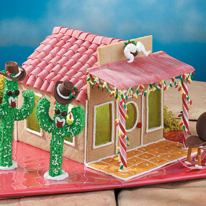 Gingerbread Ranch House