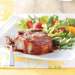Saucy Pork Chops