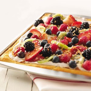 Coconut Berry Pizza
