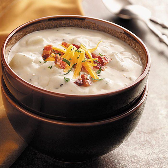 Zippy Baked Potato Soup
