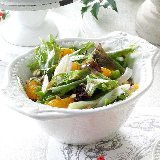 Fennel Salad with Orange-Balsamic Vinaigrette