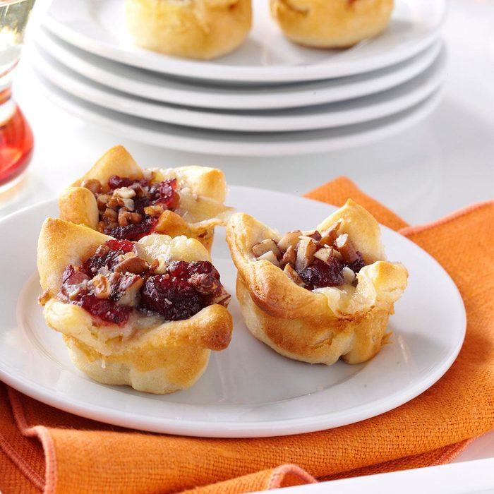 Cranberry-Brie Tartlets