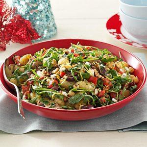 Portobello Gnocchi Salad