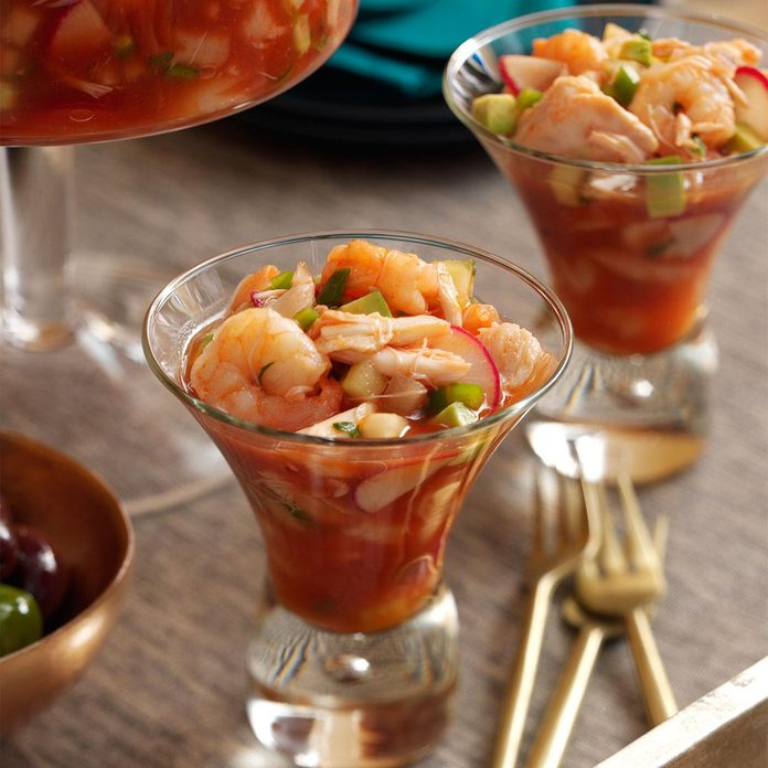 Spicy Shrimp & Crab Cocktail
