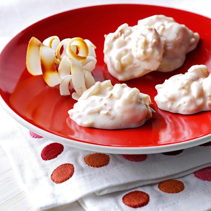 Macadamia-Coconut Candy Clusters