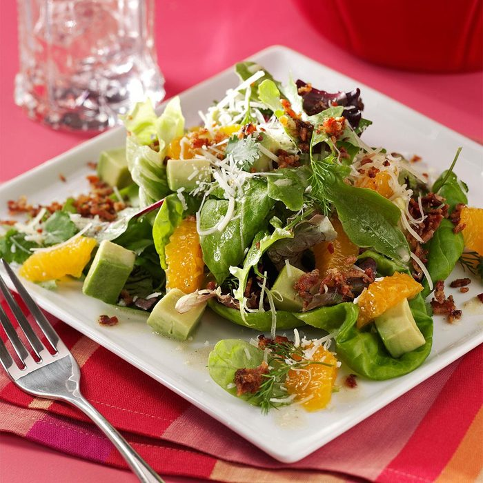 Avocado Tangerine Salad