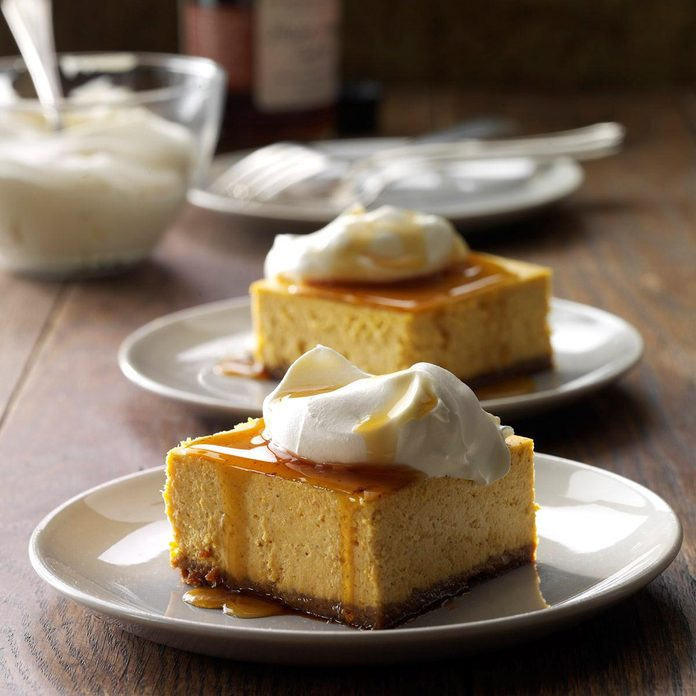 Contest-Winning Pumpkin Cheesecake Dessert