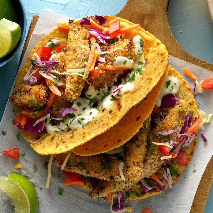 Inspired by: Crispy Fish Tacos