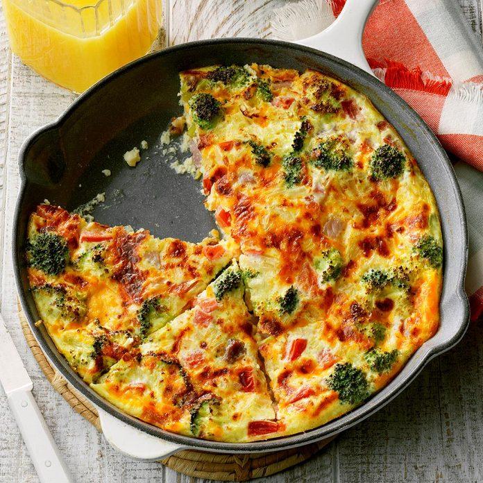 Early-Riser Oven Omelet
